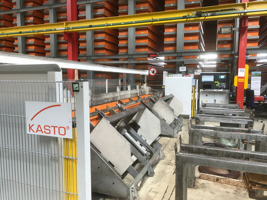 station stockage magasin automatise